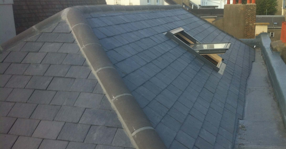 Brighton Slate Listed Building New Roof